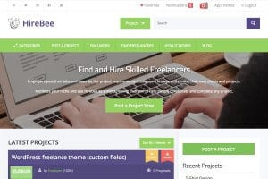 AppThemes HireBee WordPress Theme