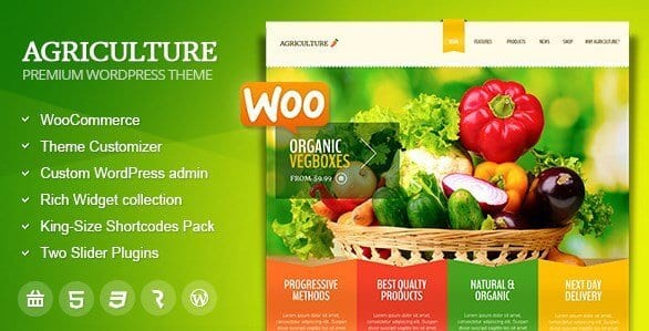 Agriculture – All in One WooCommerce WP Theme