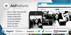 Aid Reform – NGO Donation and Charity Theme 1