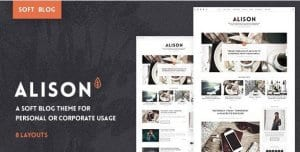 Anne Alison – Soft Personal Blog Theme