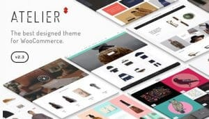 Atelier – Creative Multi Purpose eCommerce Theme