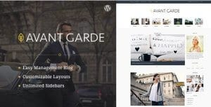 AvantGarde – WordPress Blog Theme