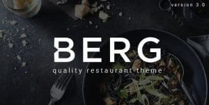 BERG – Restaurant WordPress Theme