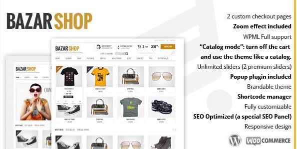 Bazar Shop – Multi Purpose e Commerce Theme