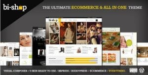 Bi Shop All In One – Ecommerce Corporate Theme