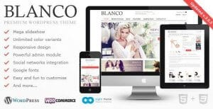 Blanco – Responsive WordPress E Commerce Theme