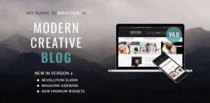 Brixton – WordPress Blog Theme 1