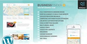 Business Finder – Directory Listing WordPress Theme