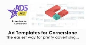 Ads Pro Cornerstone Extension – Ad Templates