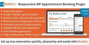Bookly Booking Plugin – Responsive Appointment Booking and Scheduling