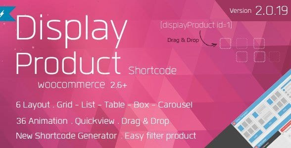 Display Product – Multi Layout For WooCommerce