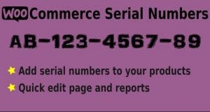 Easy Serial Numbers for WooCommerce – WordPress Plugin