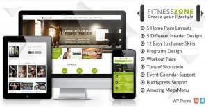 Fitness Zone – Gym Fitness Theme