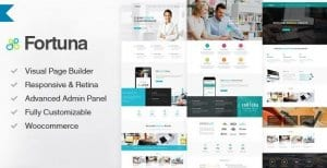 Fortuna – Responsive Multi Purpose WordPress Theme