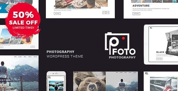 Foto – Photography WordPress Themes for Photographers