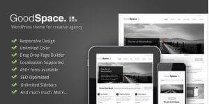 Good Space – Responsive Minimal WP Theme