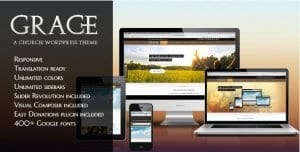 Grace – A Responsive Church WordPress Theme
