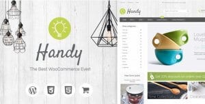Handy – Handmade Shop WordPress WooCommerce Theme