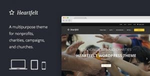 Heartfelt – Humanitarian Responsive WordPress Theme