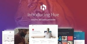 Hue – A Mighty Massive Modern Multipurpose Theme