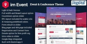Im Event – Event Conference WordPress Theme