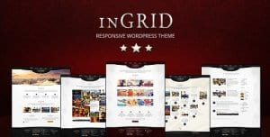 InGRID – Responsive Multi Purpose WordPress Theme