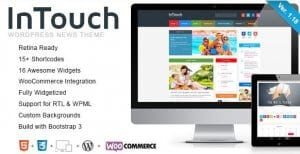 InTouch – Retina Responsive WordPress News Theme