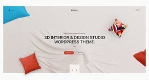 Interni – 3D Interior Design Studio WordPress Theme