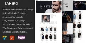 Jakiro – Fashion Shop WordPress Theme