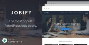 Jobify – WordPress Job Board Theme