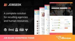 Jobseek – Job Board WordPress Theme