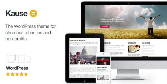 Kause – Multi Purpose WordPress Theme