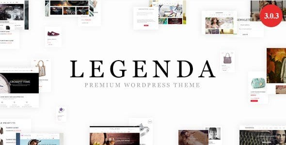 Legenda – Responsive Multi Purpose WordPress Theme