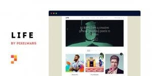 Life – Boxed Portfolio WordPress Theme
