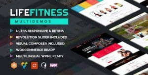 Life Fitness – GymSport WordPress Theme