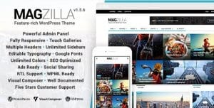 MagZilla – For Newspapers Magazines and Blogs