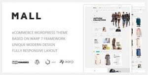 Mall – Clean Multi Purpose WooCommerce Responsive WordPress Theme