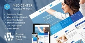 MediCenter – Responsive Medical WordPress Theme