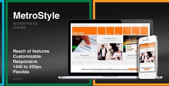 MetroStyle – Responsive All Purpose WordPress Theme