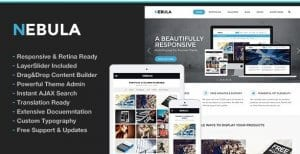 Nebula Responsive Multi Purpose Theme
