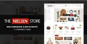 Nielsen – E commerce WordPress Theme