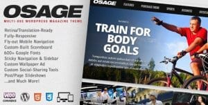 Osage – Multi Use WordPress Magazine Theme