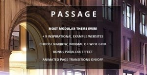 Passage – Responsive Retina Multi Purpose Theme