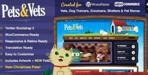 Pets Vets – WordPress WooCommerce