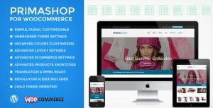 PrimaShop – Clean WooCommerce WordPress Theme