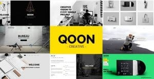 QOON – Creative Portfolio Agency WordPress Theme