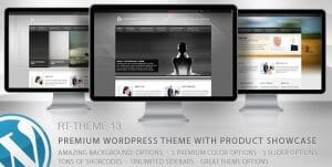 RT Theme 13 – Multi Purpose WordPress Theme