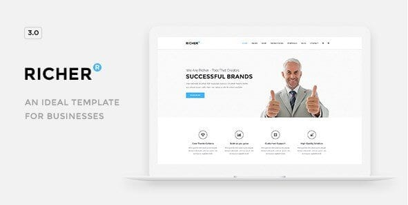 Richer – Responsive Multi Purpose Theme