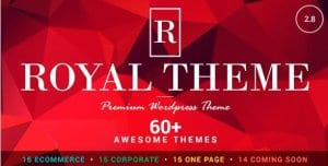 Royal – Multi Purpose WordPress Theme