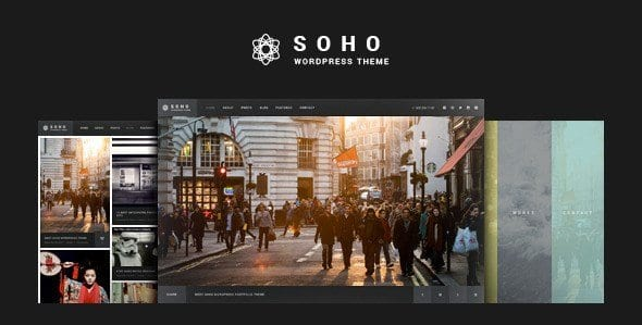 SOHO – Fullscreen Photo Video WordPress Theme